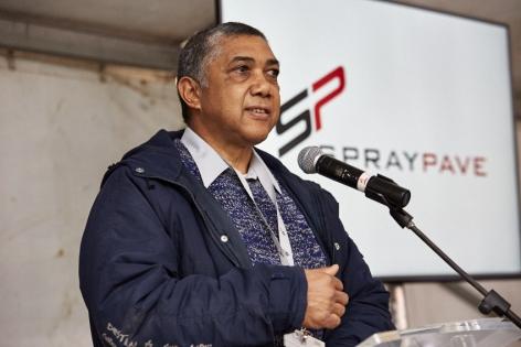 SprayPave Convertor Launch